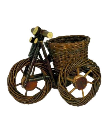 Pinta dekoracija dviratukas