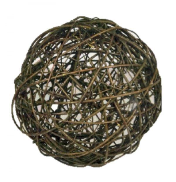 Dekoracija karklinių vytelių kamuolys