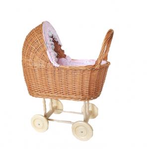 Pintas vežimėlis lėlėi